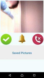 نمایی از اینترفیس طراحی شده آیفون هوشمند Smart Intercom اینترنت اشیا